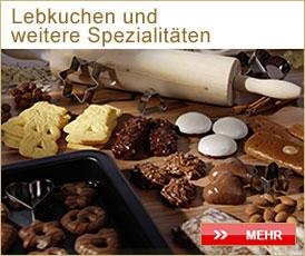 Lebkuchen und weitere Spezialitäten