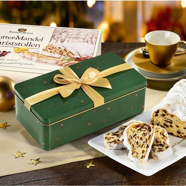 Butter-Mandel-Christstollen in der Faltschachtel (6 Stollen pro Ktn.)