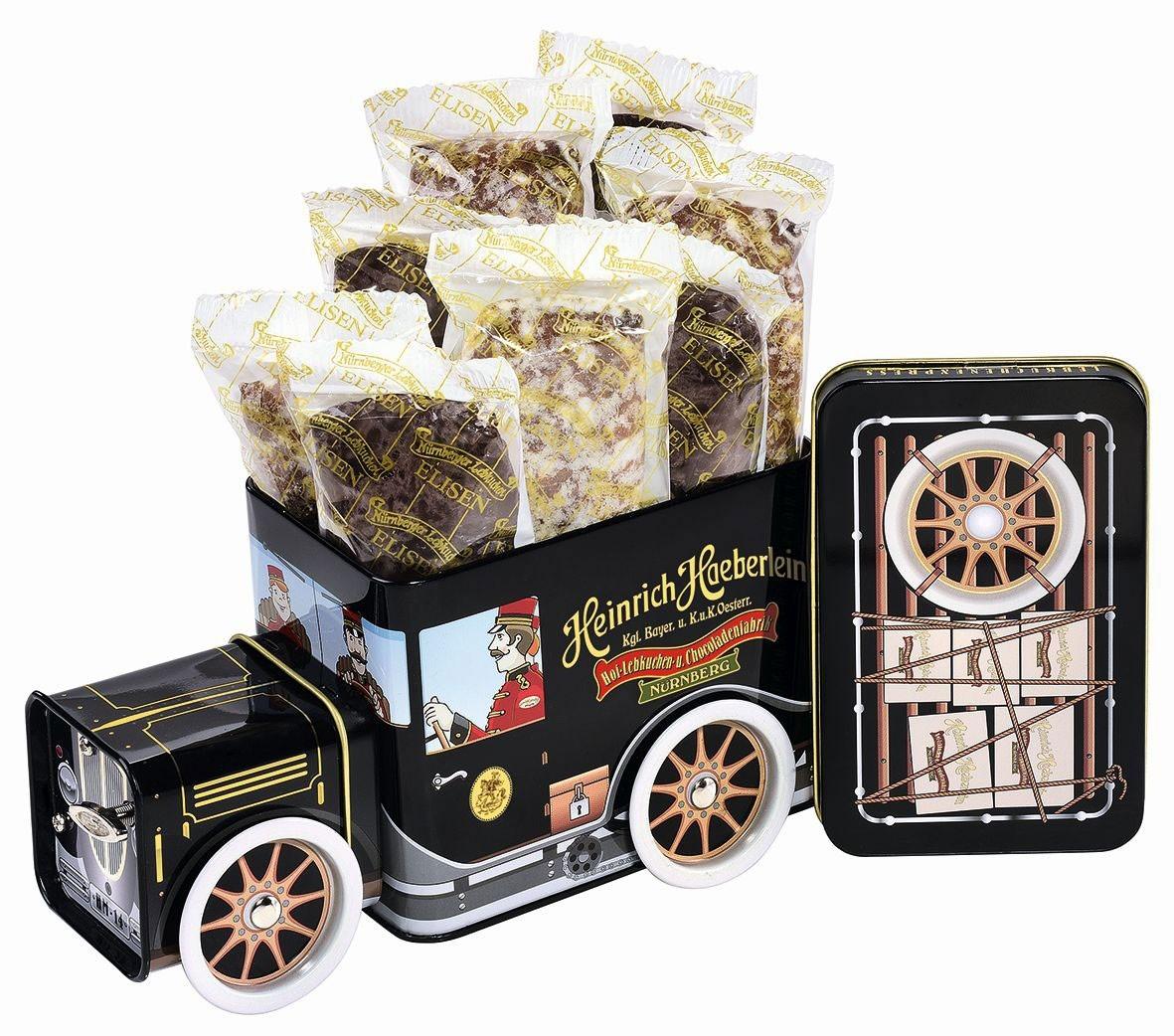 """Lebkuchen-Express mit Spieluhr """"einzeln verpackt"""""""
