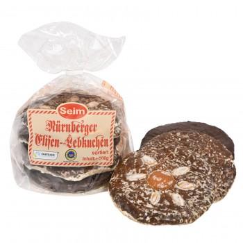 SEIM Elisen-Lebkuchen groß sortiert (24 Beutel pro Ktn.)