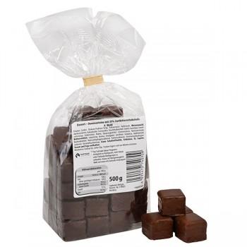 Dominosteine mit Zartbitterschokolade (14 Beutel pro Ktn.)