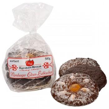 Elisen-Lebkuchen groß sortiert (24 Beutel pro Ktn.)