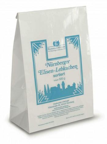 Elisen-Lebkuchen sortiert (20 Beutel pro Ktn.)