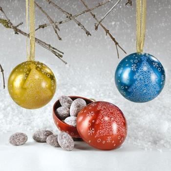 Weihnachtskugeln (Farben immer gemischt.)